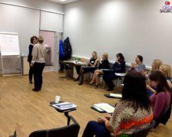 23 и 29 октября 2015 год: Ольга Сагирова провела тренинг на тему «Введение в эмоциональный интеллект» по методике Йельского университета для сотрудников Страховой группы «Согласие».